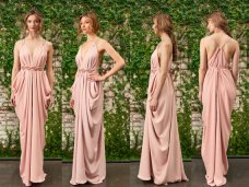 Blush bridesmaid dress - www.etsy.com/shop/LoisLondonNYC