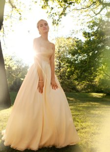 Blush corseted wedding gown - www.etsy.com/shop/RebeccaSchoneveld