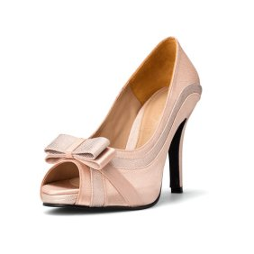Blush wedding heels - www.etsy.com/shop/ChristyNgShoes