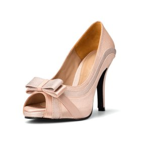 Blush wedding heels - www.etsy.com/shop/ChristyNgShoes