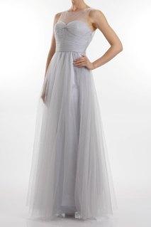 Grey bridesmaid dress - www.etsy.com/shop/FrugalMughal