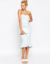 ASOS Pephem Bandeau Midi Dress, from asos.com