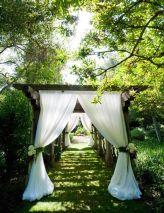 Beautiful aisle curtains {via yrphoto.com}