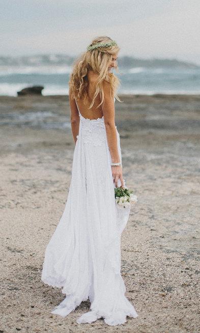 bohemian wedding dress www etsy com shop graceloveslace the