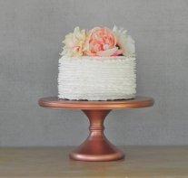 Copper cake stand - www.etsy.com/shop/EIsabellaDesigns