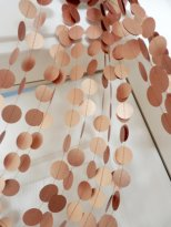 Copper garland - www.etsy.com/shop/duetofpapers