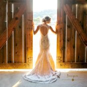 Keyhole back wedding dress - www.etsy.com/shop/ImogenInTheMeadow