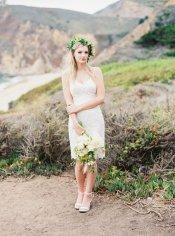 Lace reception dress/short wedding dress - www.etsy.com/shop/Laceandlibertybridal