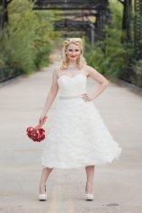 Organza reception dress/short wedding dress - www.etsy.com/shop/thepeppermintpretty