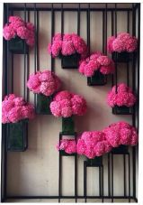 Planter wall decor {via guiadejardineria.com}