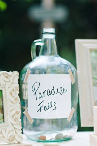 Such a cute way to politely ask for money! Love the movie 'Up' that inspired this {via weddingchicks.com}