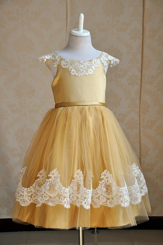 Gold dress etsy account