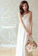 Satin and organza flower girl dress - www.etsy.com/shop/annesdesignstudio