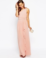 ASOS One Shoulder Sexy Slinky Maxi Dress, from asos.com