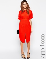 ASOS PETITE Wiggle Dress with Split Front, from asos.com