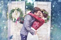 Christmas wedding inspiration {via arinabphotography.com}