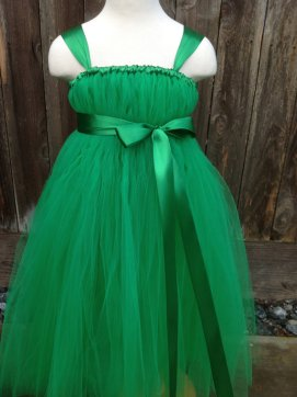 Green flower girl dress - www.etsy.com/shop/MEGI2014