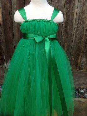 Green flower girl dress - www.etsy.com/shop/MEGI2014