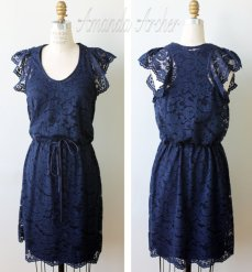 Lace bridesmaid dress - www.etsy.com/shop/AmandaArcher