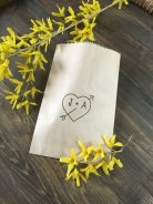 Personalised wedding favour bags - www.etsy.com/shop/SALTEDPrintingCo