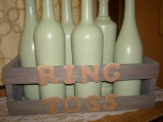Ring toss game for wedding guests - www.etsy.com/shop/CorkyCreatives