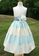 Silk dupioni flower girl dress - www.etsy.com/shop/ChildrenCouture