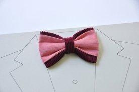 Burgundy and pink men's bow tie - www.etsy.com/shop/WingedBowTies