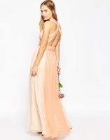 Asos Hollywood contrast bridesmaid dress - asos.com