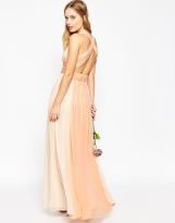 Asos Hollywood contrast bridesmaid dress - asos.com
