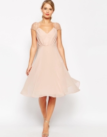 Asos Kate lace bridesmaid dress - asos.com