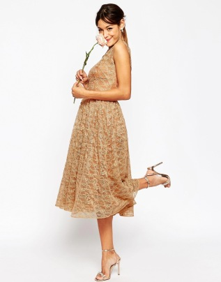 Asos lace bridesmaid dress - asos.com