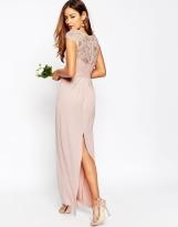 Asos lace top bridesmaid dress - asos.com