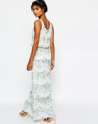Maya chiffon bridesmaid dress - asos.com