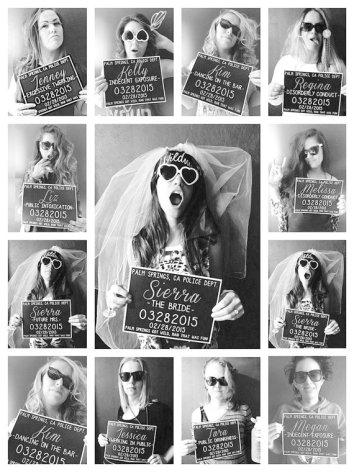 Printable bachelorette party mugshot signs - www.etsy.com/shop/HarvestPaperCo