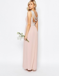 TFNC embellished maxi bridesmaid dress - asos.com