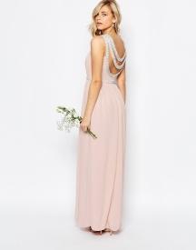 TFNC embellished maxi bridesmaid dress - asos.com