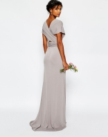 TFNC grey bridesmaid dress - asos.com