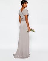 TFNC grey bridesmaid dress - asos.com