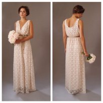 Boho wedding dress $400 - www.etsy.com/shop/ThisModernLoveBridal