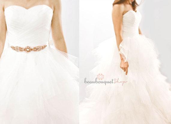 Tulle wedding dress $349 - www.etsy.com/shop/beaubouquet