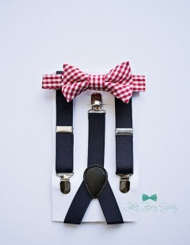 Pageboy bowtie and suspenders - from www.etsy.com/shop/littleboyswag
