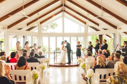 Kelly and Ryan's real wedding