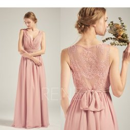 Blush bridesmaid dress, available from https://www.etsy.com/nz/listing/633701664/prom-dress-dusty-rose-chiffon?ga_order=most_relevant&ga_search_type=all&ga_view_type=gallery&ga_search_query=blush+bridesmaid+dress&ref=sc_gallery-1-1&plkey=bb5ca1377d3fb2d5ddf733a35eeeae5c05882770%3A633701664&pro=1&col=1