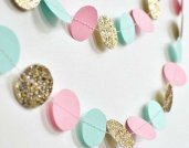 Available from https://www.etsy.com/nz/listing/538441075/gold-pink-mint-paper-garland-wedding?ga_order=most_relevant&ga_search_type=all&ga_view_type=gallery&ga_search_query=gold%2C+mint+and+pink+wedding&ref=sr_gallery-2-15&organic_search_click=1