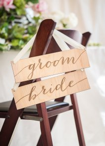 Bride and groom chair signs - https://www.etsy.com/nz/listing/209937053/bride-and-groom-chair-signs-for-wedding?ga_order=most_relevant&ga_search_type=all&ga_view_type=gallery&ga_search_query=wedding+reception+decor&ref=sr_gallery-1-35&organic_search_click=1&pro=1&col=1