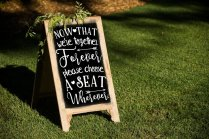 Chalkboard art - https://www.etsy.com/nz/listing/287732659/wedding-decal-together-forever?ga_order=most_relevant&ga_search_type=all&ga_view_type=gallery&ga_search_query=wedding+reception+decor&ref=sr_gallery-1-5&organic_search_click=1&col=1