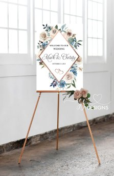 Floral welcome sign - https://www.etsy.com/nz/listing/649524187/floral-wedding-decor-welcome-sign?ga_order=most_relevant&ga_search_type=all&ga_view_type=gallery&ga_search_query=wedding+reception+decorations&ref=sr_gallery-6-9&organic_search_click=1&pro=1&frs=1