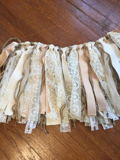 Fabric rag garland - https://www.etsy.com/nz/listing/546851094/lace-and-fabric-rag-tie-garland?ga_order=most_relevant&ga_search_type=all&ga_view_type=gallery&ga_search_query=wedding+reception+decor&ref=sc_gallery-2-10&plkey=a65e5ba02d0a90f706659b37dacfb881192148fa%3A546851094