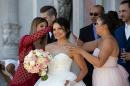 Caroline and Filippo's wedding