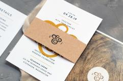 Mustard wedding invitations, from Etsy - https://www.etsy.com/nz/listing/580601563/modern-forest-wedding-invitations-lodge?ga_order=most_relevant&ga_search_type=all&ga_view_type=gallery&ga_search_query=mustard+wedding+invitation&ref=sc_gallery-1-4&plkey=a3a74b289acab402efb130d7a5c1565b5cbf382f%3A580601563&frs=1